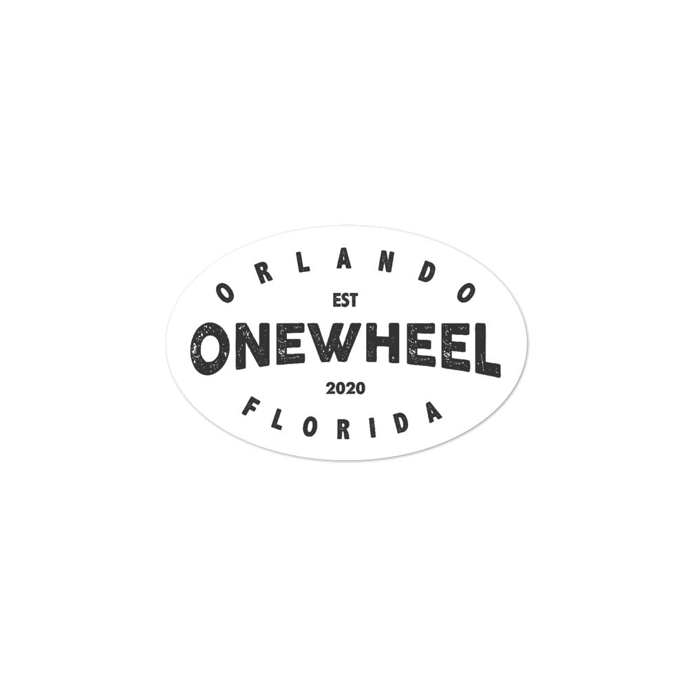 Orlando Onewheel Group Sticker