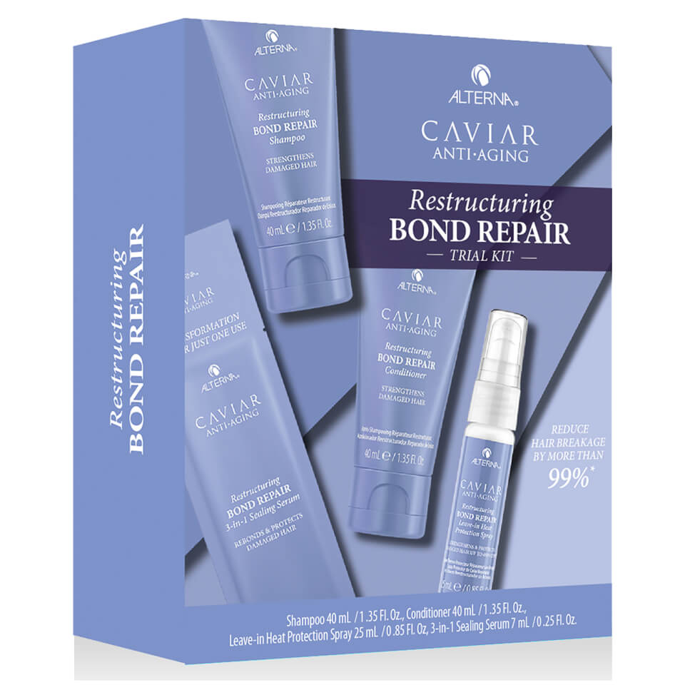 ALTERNA CAVIAR Anti-Aging  Restructuring Bond Repair Trial Kit