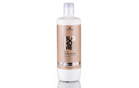 BlondMe Cool Blondes Tone Enhancing Bonding Shampoo 1L