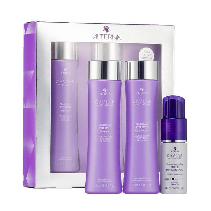 Alterna Multiplying Volume Christmas Pack w/ FREE Product