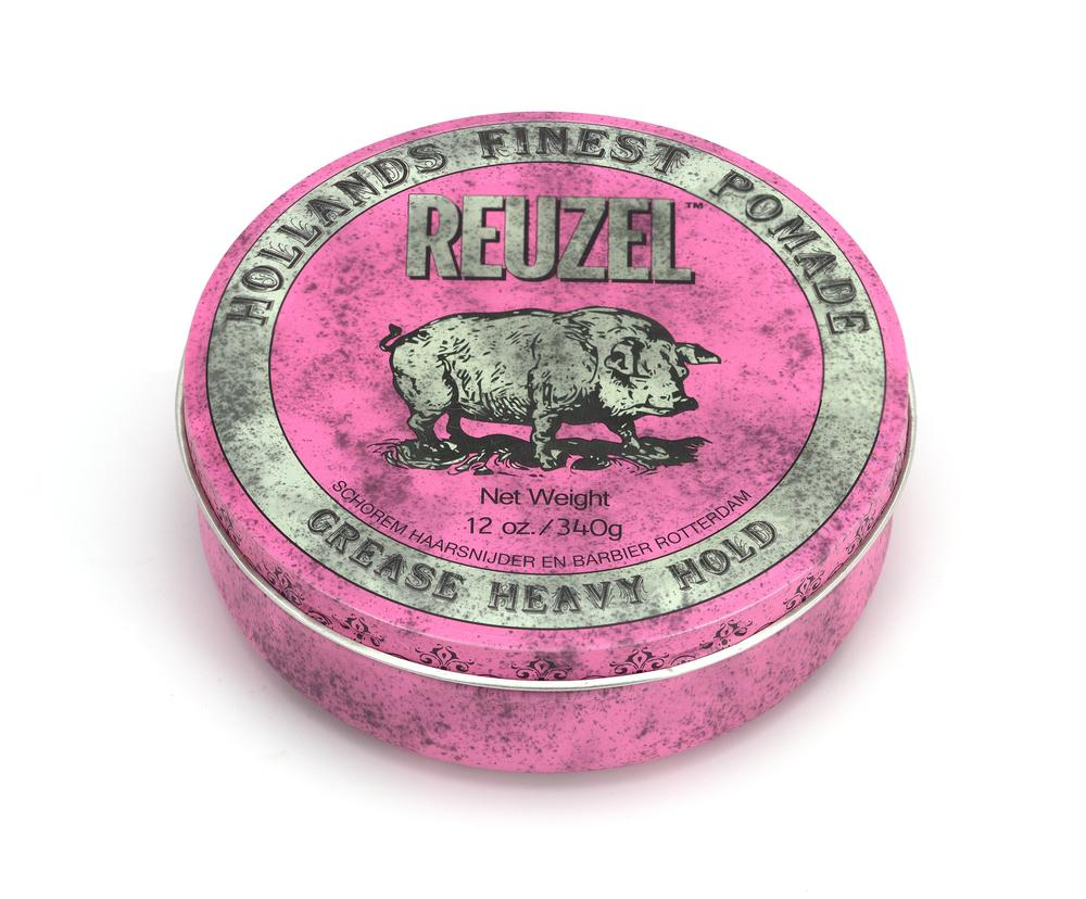 Reuzel Pink Pomade Strong Hold- Medium Shine- Oil Based 4oz/113g