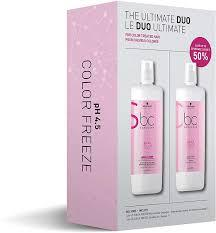 BC Bonacure Color Freeze Shampoo & Conditioner 1L Duo