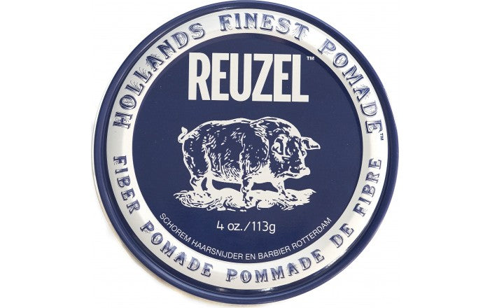 Reuzel Fiber Pomade Firm and Pliable– Low Shine – Water Soluble 4oz/113ml