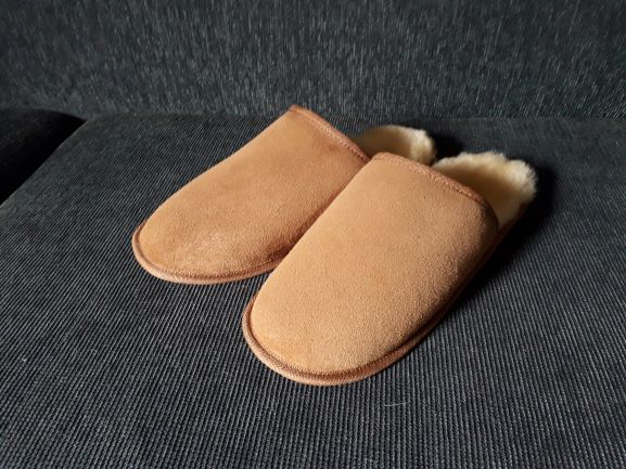 Mules with soft soles
