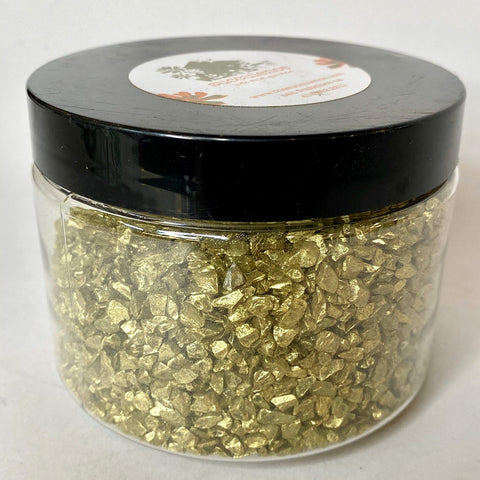 Colored Ice - Gold Top Dressing, 1 lb