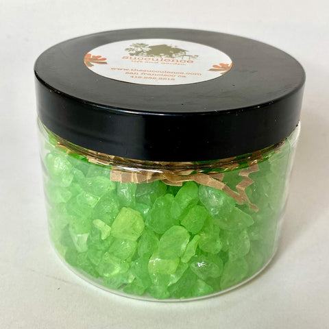 Colored Ice - Green Top Dressing, 1 lb