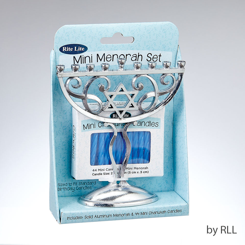 Rite Lite Mini Menorah Set