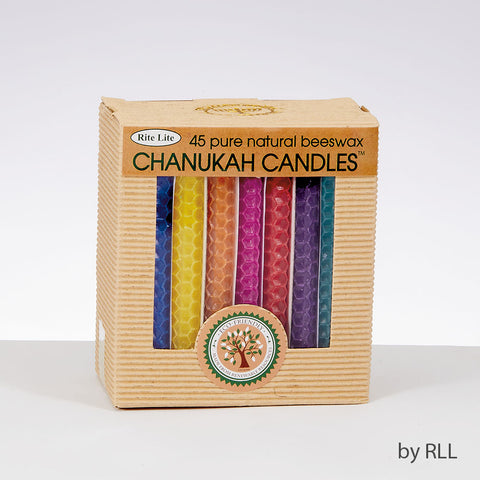 Rite Lite Natural Beeswax Chanukah Candles