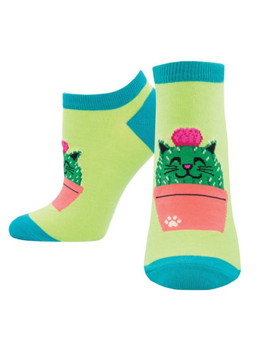 Socksmith Kitty Cactus Shortie Socks