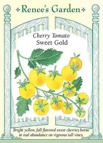 Cherry Tomato Sweet Gold, Seeds
