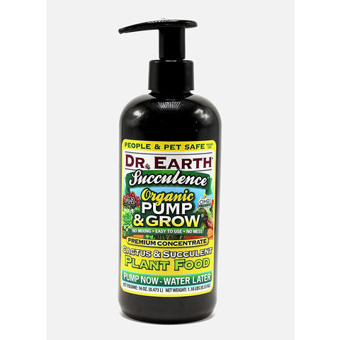 Dr. Earth Pump & Grow Succulence & Cacti Plant Food - 16oz