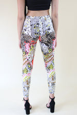 Load image into Gallery viewer, Walk This Way floral and animal print leggings - Sahvant