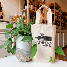 Load image into Gallery viewer, Surfrider's x Kathryn's Wines | 2-bottle wine bag