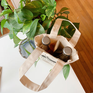 Surfrider's x Kathryn's Wines | 2-bottle wine bag
