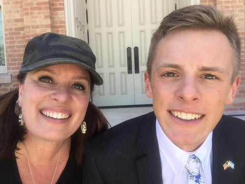 My Missionary Son and Me