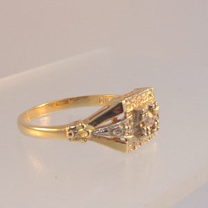 Estate Diamond Ring from Warren Jewelers