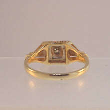 Old Mine Cut Estate Diamond Ring at Warren Jewelers