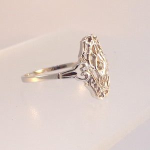 .02ct Old cut diamond Ladies Estate Styled Ring from Warren Jewelers