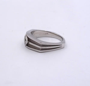 Men's Diamond Ring .36ct