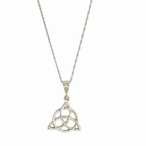 Celtic Trinity with Circle Necklace