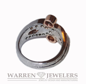 1.44ctw Ladies Fancy Diamond Ring