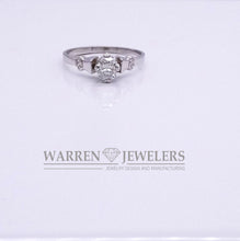 .55CT Cushion Cut Diamond Ring