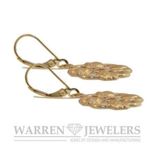 Floral Garden Party Tulip Earrings in 14K Gold