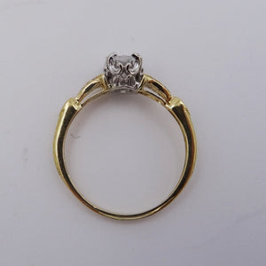 .77CTW Oval Cut Diamond Engagement Ring