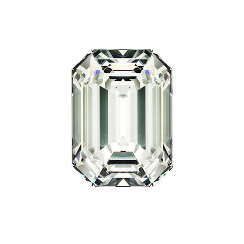 1.00CT SI-3 E EMERALD CUT DIAMOND CERTIFIED