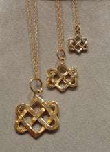 Neverending Hearts Charm in 14K Gold-Large in 3 sizes