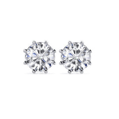 .62ctw Diamond Old European Cut Earrings