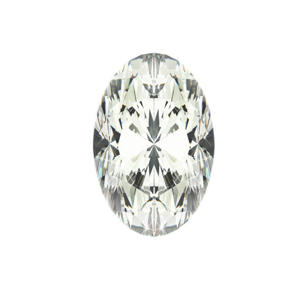 1.00CT SI-2 D OVAL DIAMOND CERTIFIED