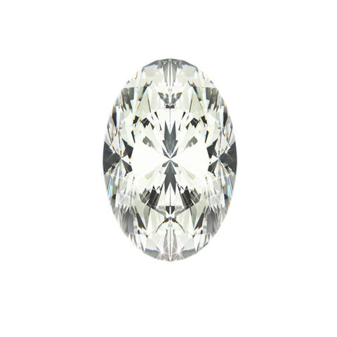 1.08CT SI-3 G OVAL DIAMOND CERTIFIED