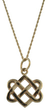 Neverending Hearts Pendant in 14K Gold Medium at Warren Jewelers