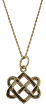 Neverending Hearts Pendant in 14K Gold Large from Warren Jewelers