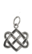 Neverending Hearts Charm in Sterling Silver-Medium from Warren Jewelers