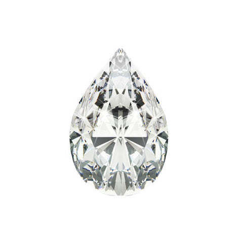 1.24CT SI-2 H PEAR DIAMOND CERTIFIED