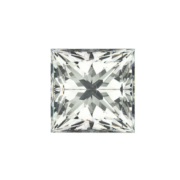 .78CT VS-1 E PRINCESS CUT GIA CERTIFIED
