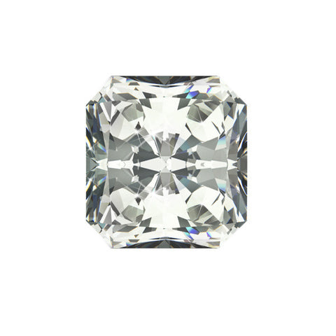 1.01CT SI-2 D RADIANT CUT DIAMOND CERTIFIED