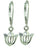 Rhapsody Tulip Earrings Sterling Silver from Warren Jewelers