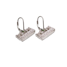Tulip Basket Earrings Sterling Silver