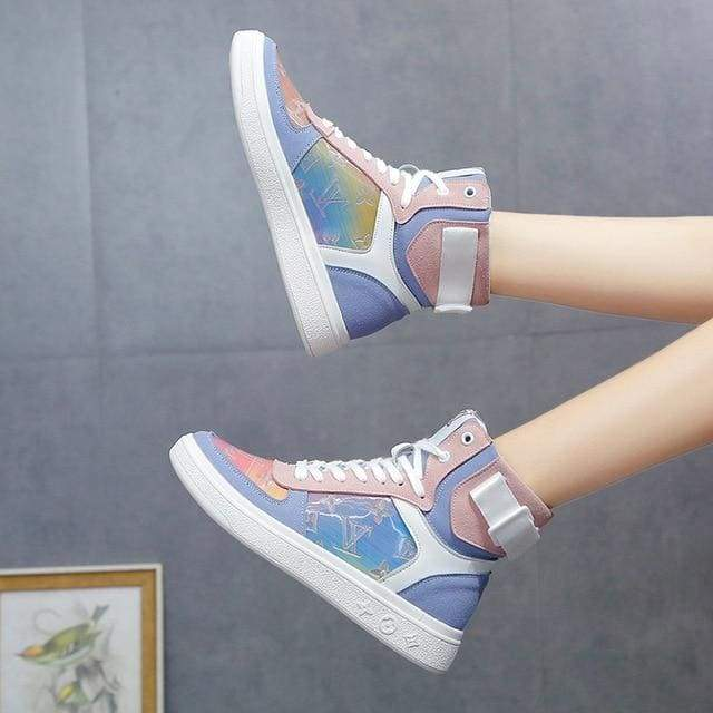 Jolly Creme - Blue / 40 - Footwear