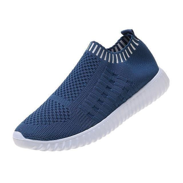 Jolly Foot Klaire - Blue / 8 - Footwear
