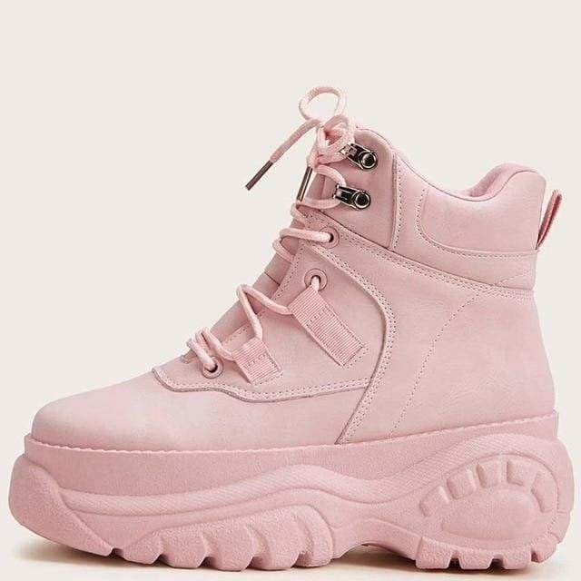 Jolly Plush - Pink / 7 - Footwear
