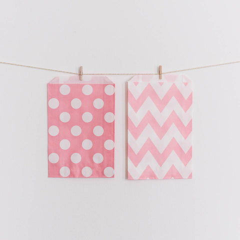 Favor Bag Blush Pink