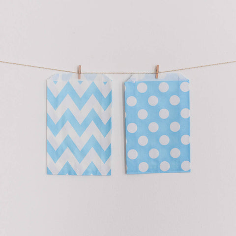 Favor Bag Light Blue