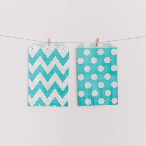 Favor Bag Light Aqua (Turquoise)