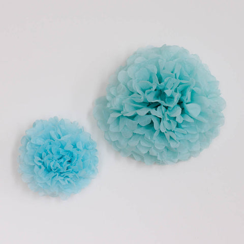 Tosca Green Paper Pom