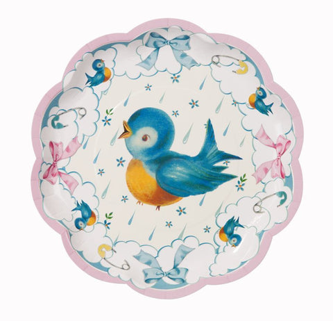 Baby On Board Plate 8pk
