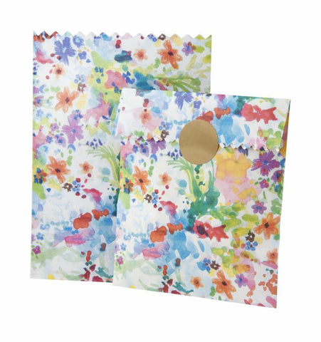 Floral Fiesta Treatbag Small 10Pk